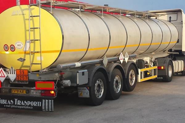 trasporto conto terzi di merci pericolose in ADR